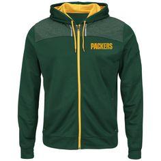 Green Bay Packers grau Majestic Our Team Fleece Hoody