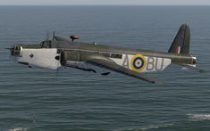 Great Britain's Vickers Wellington Mk I bomber. Air Force Aircraft, Navy Aircraft, Ww2 Aircraft, Military Aircraft, Wellington Bomber, Aircraft Painting, Ww2 Planes, Aircraft Pictures, Royal Air Force