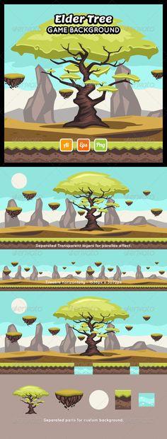 Elder Tree Game Background Download here: https://graphicriver.net/item/elder-tree-game-background/8778152?ref=KlitVogli