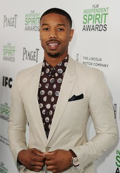 Michael B. Jordan at the Spirit Awards