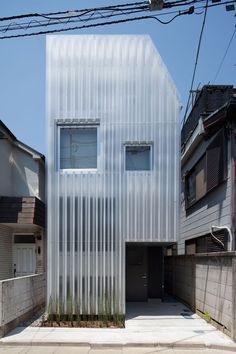 corrugated translucent