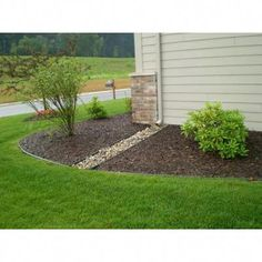 30 Best Ideas For Yard Drainage Solutions Backyards Mulches Landscaping With Rocks, Front Yard Landscaping, Backyard Landscaping, Landscaping Ideas, Backyard Ideas, Landscaping Costs, Country Landscaping, Inexpensive Landscaping, Porch Ideas