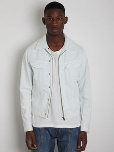 Maison Martin Margiela 10 Men's Bleached Denim Jacket
