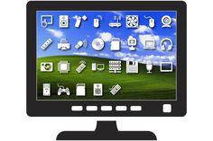 Computer hardware icon set by stockimagefolio on @creativemarket