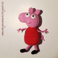 Amigurumi häkeln Peppa Wutz Pig kostenlos