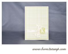 Stampin' UP! Gartenparty Letter it