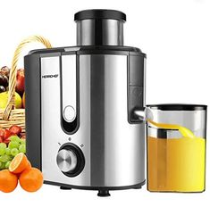 Consequently, this modern electric juicer is fulfilled with all the features for the need of modern life.similarly it has a large entrance path for oranges and any other fruits which you want to extract with a size of 3 inches. even though you don't need to cut fruits to small size before putting into this juicer for extraction.