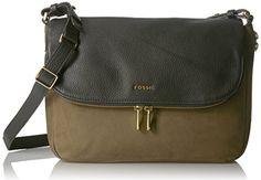 Fossil Preston Flap Bag, Canteen <3 Click photo for details @ http://www.amazon.com/gp/product/B01DYFNQ5S/?tag=handbagscto-20&EF=190816040218