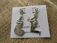 Large Silver Praying Man and Woman Earrings on Posts Approximately 2 inches (5 centimeters) Segundo Milagro gringagordon@gmail.com http://segundomilagro.tumblr.com  #milagro #milagros #spirit #christian #catholic #religious #jewish #blessing #altars #altar #miracle #charm #charmed #blessed #divine #mexico #saints #mexican #sale #gift #custom #folk #art #handmade #artifact #faith #style #shop #protection #custom #cool #god #cross #prayer #chic #fashion #jewelry #silver #earrings