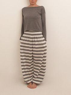 Loungewear sleepwear wide leg pajama women pyjamas by Anaoiss