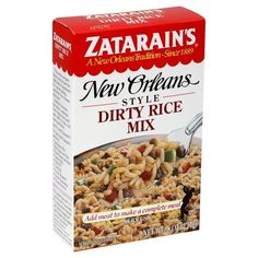 Zatarain's GLUTEN-FREE Original New Orleans Style DIRTY RICE MIX 8oz (4 pack) >>> Be sure to check out this awesome product.