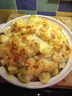 Philly, sausage and bacon potato bake