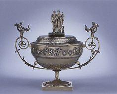 Sugar bowl with cover Giovacchino Belli (1756–1822, master 1787) Date: ca. 1811–22