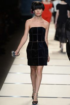 Fendi RTW Spring 2014 - Slideshow - Runway, Fashion Week, Reviews and Slideshows - WWD.com