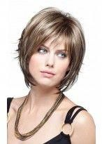 Mechas Pelo Corto Asimétrico 2015 - Odd Tutorial and Ideas Short Fine Hair Cuts, Bob Hairstyles For Fine Hair, Short Hair With Layers, Short Hairstyles For Women, Blonde Hairstyles, Latest Hairstyles, Fashion Hairstyles, Popular Hairstyles, Short Cuts