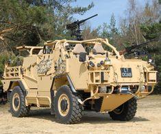 Supacat HMT 400 Jackal Reconnaissance, Rapid Assault and Fire Support Vehicle - British Army