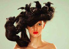 Wacky Hair Wednesdays: Birds will mistaken this hairdo as their nest for sure!!