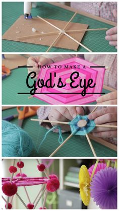 Learn how to make a grown-up God's Eye from Robert Mahar on the CreativeLive blog!