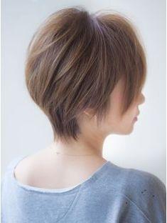 アフロートジャパン(AFLOAT JAPAN) メリハリをきかせた大人ショートヘア モーブカラー ワイド
