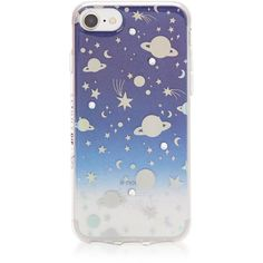 Julia Michaels Universe Case (91 BRL) ❤ liked on Polyvore featuring accessories, tech accessories, planet, star and tech