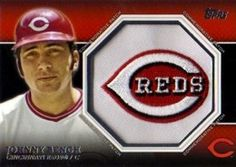 2013 Topps Series 2 Commemorative Patch CP-41 Johnny Bench