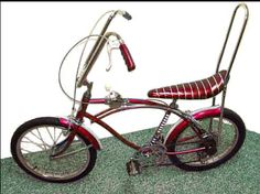 "My first ""cool"" bike Sting Ray"