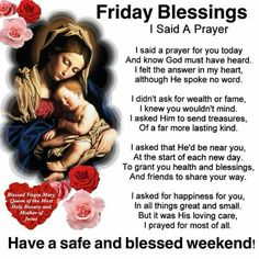 Say A Prayer, Prayer For You, Daily Prayer, Friday Morning Quotes, Today Is Friday, Pray Without Ceasing, Divine Mercy, Special Quotes, Religious Quotes