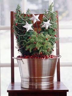 christmas little trees decor