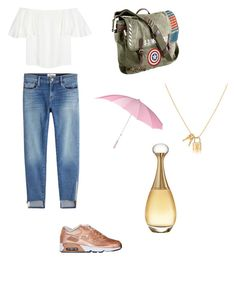 """""""Gunsmith boyfriend"""" by stephens-be-savage on Polyvore featuring Valentino, Frame, Marvel and Christian Dior"""