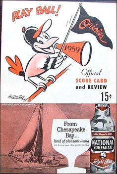 baltimore orioles 1959 - Google Search