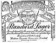 """LAGER STANDARD  Dal XIX secolo la Lager è diventata la birra più prodotta e venduta al mondo. Stagionata a lungo a bassa temepratura, prende il suo nome dalla parola Lager ( che significa deposito e che si riferisce alle cantine di """"deposito"""" in cui veniva conservata). Sono birre """"neutre"""" in cui i sapori marcati o decisi sono considerati difetti. Ottime per dissettarsi o rinfrescarsi."""