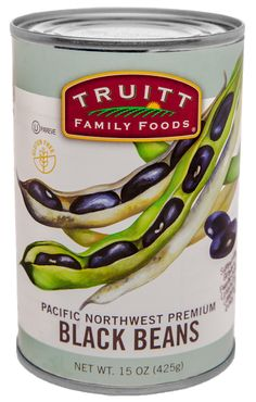 Black-Beans from Truitt Family Foods | Make a Fiesta Bean Salad by mixing kidney, black & navy beans with bell peppers, corn & olive oil.