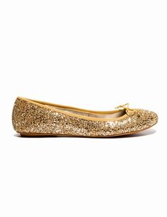 8133870aef0 Bought these sparkly flats for off today! Diane Ballet Flat from The  Limited.