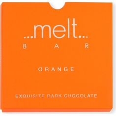 MELT Orange dark chocolate bar 90g (285 UAH) ❤ liked on Polyvore featuring beauty products