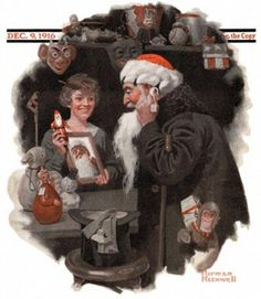 ImpressioniArtistiche / Norman Rockwells ~ Christmas ~