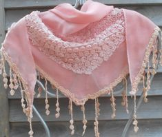 Festival Shawl,Pink Lace Scarf,Triangle Shawl,Bridal Scarf, Pink Fashion Scarf,Wedding Shawl,Mother of the Bride Shawl Bridal Shawl, Wedding Shawl, Lace Scarf, Lace Shawls, Metallic Scarves, Paisley Scarves, Pashmina Shawl, White Bridal, Pink Fashion