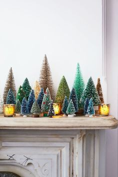 When decking your own halls, consider these charming touches. Classic in inspiration and modern in execution, they bring cheer to nearly every room in the house and are as easy to implement as one, two. Christmas Mantels, Diy Christmas Tree, Christmas Wreaths, Christmas Decorations, Holiday Decorating, Merry Christmas, Fake Xmas Tree, Holiday Centerpieces, Classic Home Decor