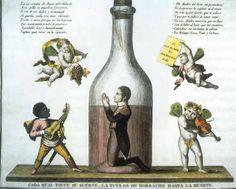 """José I, hermano de Napoleón, sus problemas con el alcohol, """"Pepe botella"""""""
