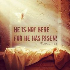 HAPPY BLESSED EASTER! YES...HE IS RISEN...PRAISE GOD! I pray you all enjoy this beautiful day with your most precious loved ones. - http://ift.tt/1HQJd81