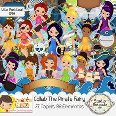 Collab The Pirate Fairy com Armazém Criativo