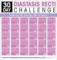 Exercises to Repair Diastasis Recti | How to Heal Diastasis Recti