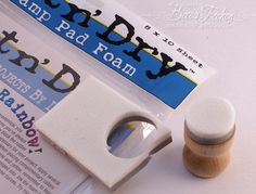 Distress Ink applicators/blenders - Just Call Me Thrifty » Tutorials » Amazing Paper Grace