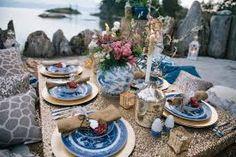 boho romantic picnic