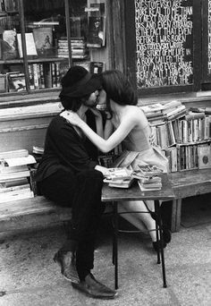 Books and kisses - oh yes
