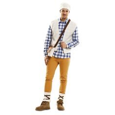 Disfraz de Pastor Adulto #disfracesnavidad #disfracesnavideños