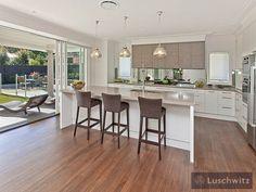kitchen designs with floorboards