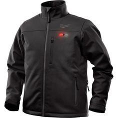 Milwaukee Men's Black Heated Jacket Kit by Milwaukee at Fleet Farm Mens Work Jacket, Gray Jacket, Vest Jacket, Milwaukee M12, Milwaukee Tools, Safety Workwear, Heated Jacket, Camouflage Jacket, Sleeveless Jacket