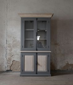 oak glass-case China Cabinet, Tall Cabinet Storage, Glass, Furniture, Home Decor, Decoration Home, Chinese Cabinet, Drinkware, Room Decor