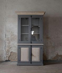 oak glass-case