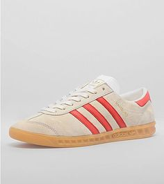 adidas Hamburg: Initially released in 1982 as part of adidas' now legendary City Series, the adidas Originals Hamburg returns two decades after its steady rise to becoming one of the most popular street-ready silhouettes during the football-casual movement through Europe in the early 80s.